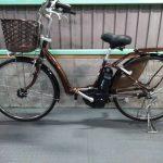 【SOLD OUT】電動自転車 ブリヂストン アシスタボーテ BEAUTE  26インチ ブラウン