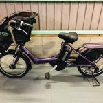 【SOLD OUT】電動自転車 ヤマハ PAS Kiss 20インチ 子供乗せ 紫 大容量8Ah