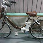 【SOLD OUT】電動自転車 パナソニック リチウムVIVI  24インチ ブラウン