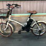 【SOLD OUT】電動自転車 パナソニック グリッター 20インチ 8Ah クリーム