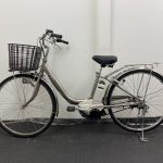 【SOLD OUT】電動自転車 ヤマハ PASリチウム 26インチ シャンパンゴールド 4Ah ライトタイプ