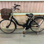 【SOLD OUT】電動自転車 ヤマハ PAS Natura 24インチ ブラック スタンダードタイプ