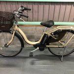 【SOLD OUT】電動自転車 ヤマハ PAS Natura 26インチ 6.6Ah アイボリー