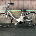 【SOLD OUT】電動自転車 ヤマハ PAS  リチウム 4Ah シルバー ライトタイプ