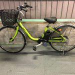 【SOLD OUT】電動自転車 パナソニック リチウムVIVI DX 26インチ 7Ah  グリーン