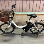 【SOLD OUT】電動自転車 ヤマハ PAS CITY C 前後20インチ 大容量8.7Ah ホワイト