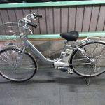 【SOLD OUT】電動自転車 パナソニック VIVI DX 26インチ シルバー 8Ah