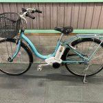電動自転車 ブリヂストン アシスタ Assista 26インチ 4Ah 水色 傷有
