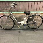 【SOLD OUT】電動自転車 パナソニック VIVI DX  26インチ 5Ah シルバー