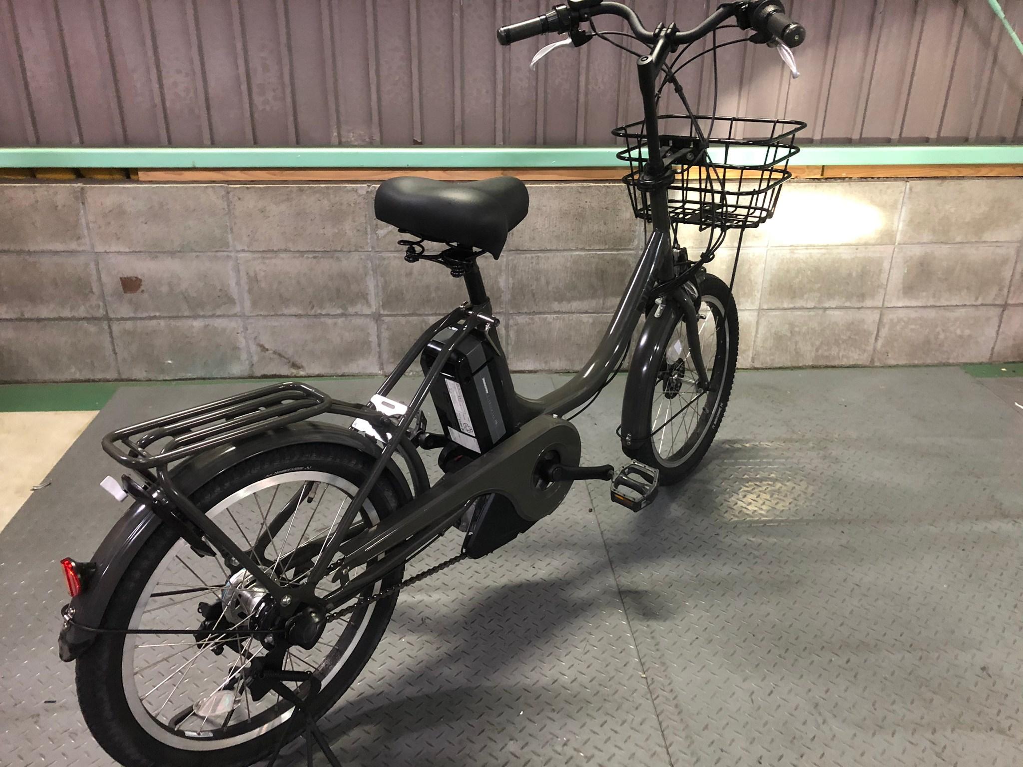 【SOLD OUT】電動自転車 ブリヂストン bikke 20インチ 8.9Ah  オリーブ色