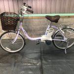 【SOLD OUT】電動自転車 パナソニック VIVI SS  20インチ 3.1Ah パープル