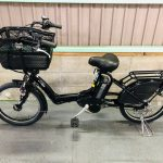 【SOLD OUT】電動自転車 ヤマハ PAS Kiss mini 20インチ 8.7Ah 子供乗せ ブラック