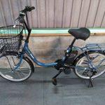 【SOLD OUT】電動自転車 パナソニック vivi  コンパクト ライトネイビー   20インチ リチウム 小径