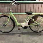 【SOLD OUT】電動自転車 ブリヂストン アシスタボーテ 26インチ 3人乗り適合車 ライムグリーン