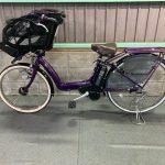 電動自転車 ブリヂストン アンジェリーノ 22/26インチ 子供乗せ 8.1Ah パープル