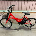 【SOLD OUT  K様】電動自転車 ブリヂストン MARIPOSA   (ヤマハ PAS CITY-X) 20インチ 6Ah 赤