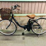 【SOLD OUT】電動自転車 パナソニック VIVI SX 最新デジタル 26インチ 大容量12Ah メタリックブルー