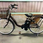 【SOLD OUT】電動自転車 ブリヂストン アシスタ 26インチ 6Ah 茶