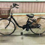【SOLD OUT】電動自転車 パナソニック VIVI  26インチ 3.1Ah   ブラック