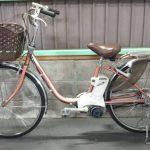 【SOLD OUT】電動自転車 パナソニック VIVI  26インチ 3.1Ah   ピンク