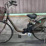 【SOLD OUT】電動自転車 パナソニック VIVI  26インチ 3.1Ah   ブラウン