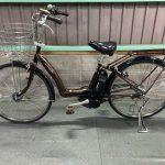 電動自転車 ヤマハ PAS Raffini ラフィーニ 26インチ  3人乗り適合車 大容量バッテリー8Ah ブラウン