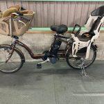 【SOLD OUT】電動自転車 パナソニック ギュットミニ 子供乗せ 3人乗り適合 20インチ ブラウン