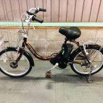 電動自転車 ブリヂストン Assista  コンパクト ブラウン 20インチ リチウム 小径