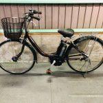 電動自転車 ヤマハ PAS ナチュラM 26インチ 長生きバッテリー 6Ah ブラウン