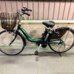 【SOLD OUT】電動自転車 ヤマハ PAS ナチュラM 24インチ 長生きバッテリー 6Ah グリーン