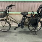 【SOLD OUT】電動自転車 パナソニック LALA5 mini  7Ah 20インチ 子供乗せ カーキ