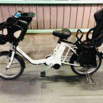 【SOLD OUT】電動自転車 パナソニック ギュットミニ 白 子供乗せ 3人乗り適合 20インチ 最新デジタル