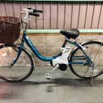 電動自転車 パナソニック ALFITビビ デジタル 24インチ   グリーン