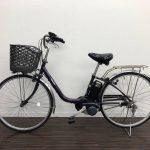 【横浜倉庫】電動自転車 パナソニック VIVI DX   26インチ デジタル パープル