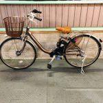 電動自転車 パナソニック VIVI ビビ ブラウン 6Ah 26インチ