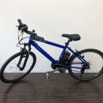 【横浜倉庫】電動自転車 パナソニック ハリヤ 12Ah ブルー 26インチ 外装7段変速