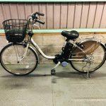 電動自転車 パナソニック VIVI EX デジタル 24インチ 8.9Ah チタンシルバー