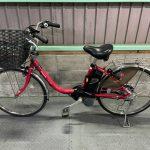 電動自転車 パナソニック VIVI DX  24インチ ベリーレッド 8Ah