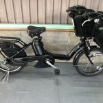 【SOLD OUT】電動自転車 BRIDGESTONE アンジェリーノ プティット 黒 子供乗せ