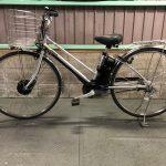 【SOLD OUT】電動自転車 パナソニック ビビチャージWT   17.6Ah   長距離走行可能! ウーバーイーツ 仕事向け  デジタル 27インチ