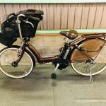 【SOLD OUT】電動自転車 ブリヂストン アンジェリーノ 22/26インチ 子供乗せ 6Ah 茶色