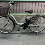 【SOLD OUT】電動自転車 ヤマハ PAS Natura ナチュラL デジタル 26インチ 8.7Ah シルバー 2018年