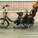 電動自転車 ヤマハ PAS Babby 20インチ 子供乗せ 8.7Ah モスグリーン
