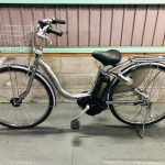 【SOLD OUT】電動自転車 ブリヂストン アシスタ 26インチ 6Ah  長生きバッテリー シルバー