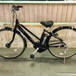 【SOLD OUT】電動自転車 ヤマハ PAS CITY   27インチ 長生き ブラック 6Ah 良品バッテリー!
