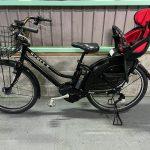 電動自転車 ブリヂストン ハイディービー HYDEE-B  26インチ 子供乗せ 8.1Ah マットブラック