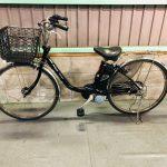 【SOLD OUT】電動自転車 パナソニック ビビ デジタル 26インチ ブラック 8.9Ah 大容量バッテリー